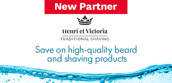 Save on beard and grooming products at Henri et Victoria