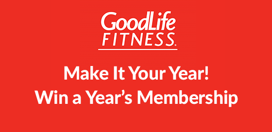 Win A One Year Membership at GoodLife Fitness