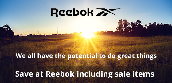 Reebok: we all have the potential to do great things.