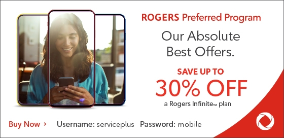 Save up to 30% with Rogers