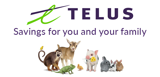 Savings for you and your family with Telus