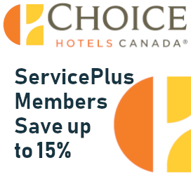 Save up to 15% with Choice Hotels