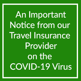 An Important Notice from our Travel Insurance Provider on the COVID-19 Virus