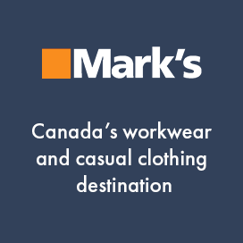 Marks. Canada's workwear and casual clothing destination
