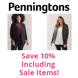 Save 10% at Penningtons including sale items