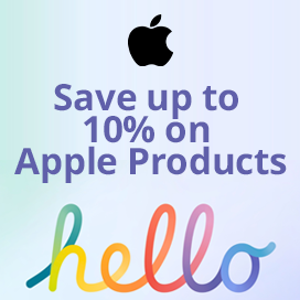 Save up to 10% with Apple