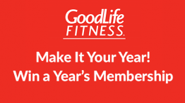 Win a Year's Membership at GoodLife Fitness
